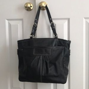 Coach Bags - Leather Coach Tote Bag